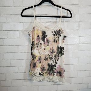 Maurice's floral lace tank top
